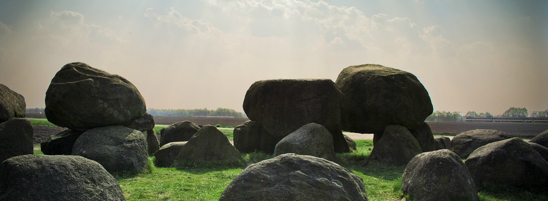 "English Homophones: Large boulders not ""bolder"" in a field."