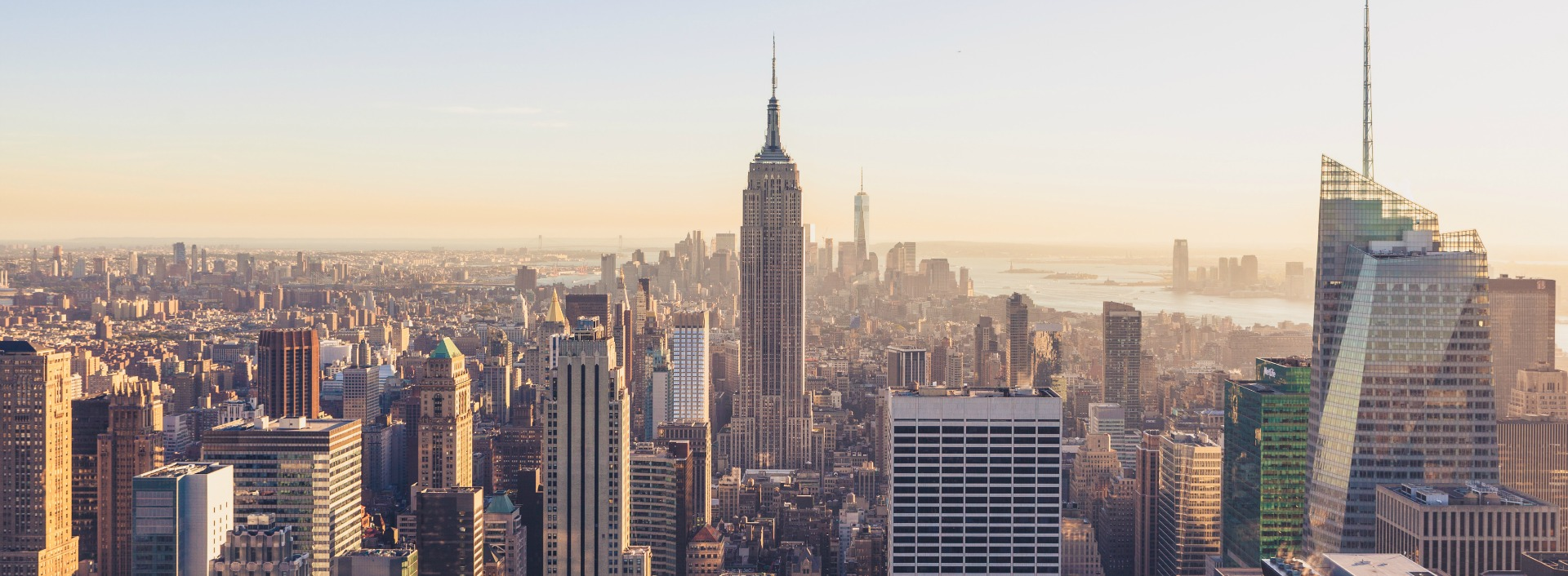American vs. British English pronunciation : New York City Skyline