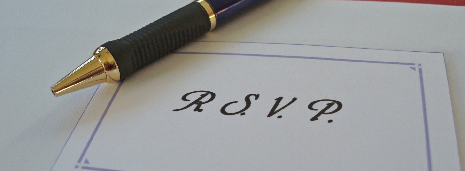 RSVP and other common abbreviations