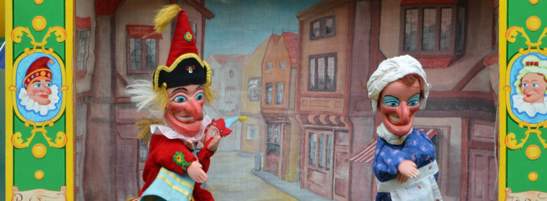 Punch and Judy - Proud as Punch- Common English Phrases
