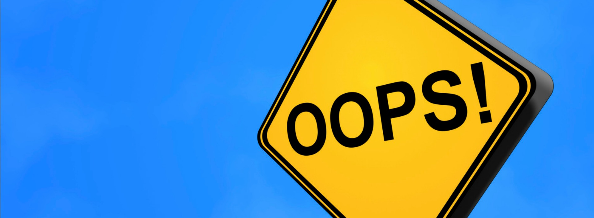 """Try to use daily English phrases like """"oops"""" every day!"""