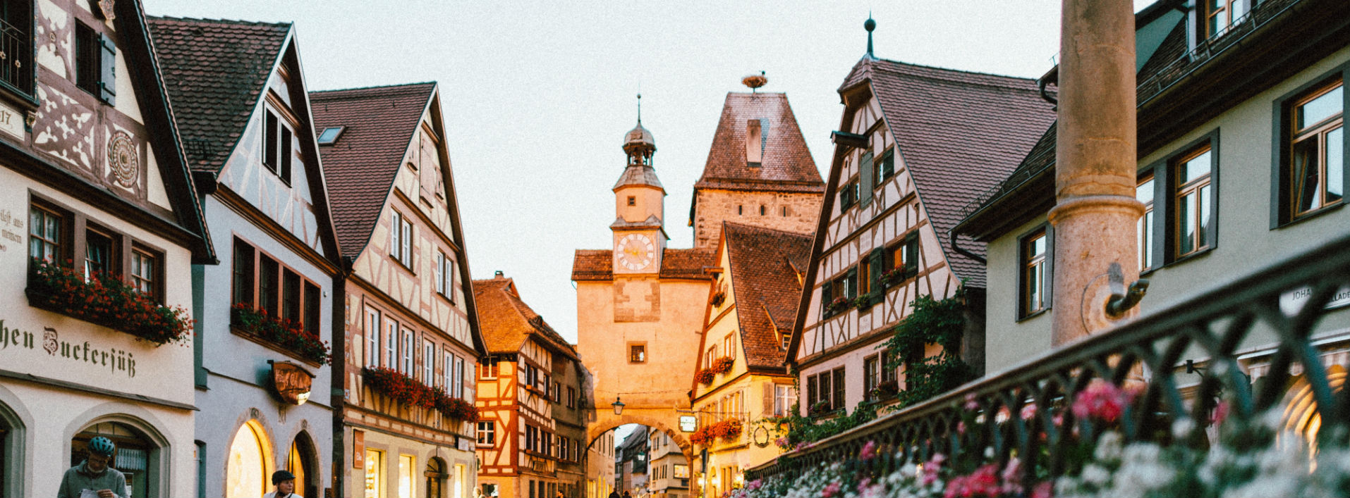 Bespeaking German Teachers- small village in Germany, city center.
