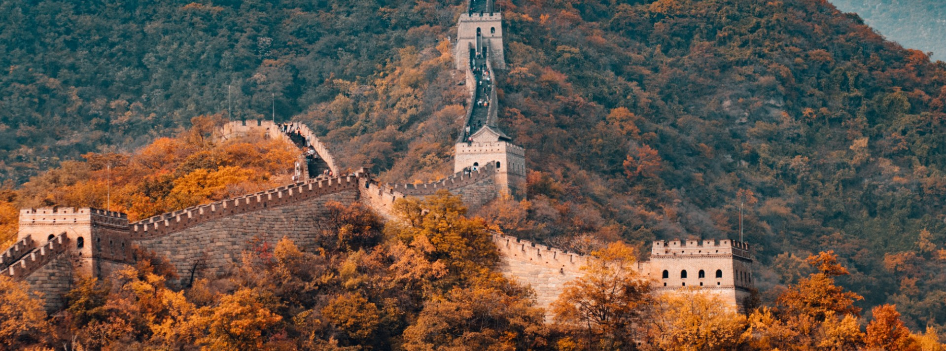 a picture of the Great Wall of China - learn Chinese with Bespeaking Chinese Teachers