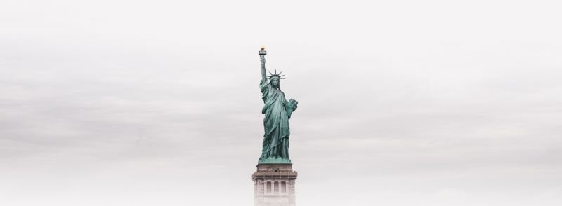 Statue of Liberty in the fog- 6 Distinct American Phrases