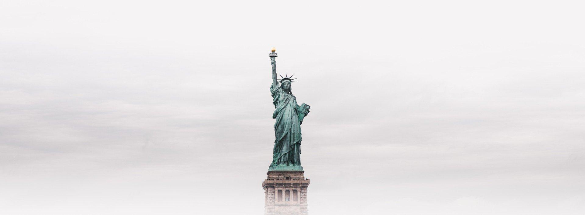 Statue of Liberty in the fog- 6 Distinct American Phrases